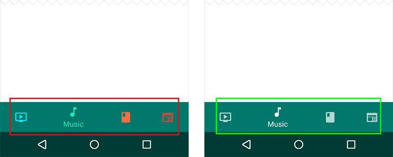 Bài học (case study) về thiết kế Kỹ thuật thiết kế  11 nguyên tắc khi thiết kế Bottom Navigation Bar trên mobile