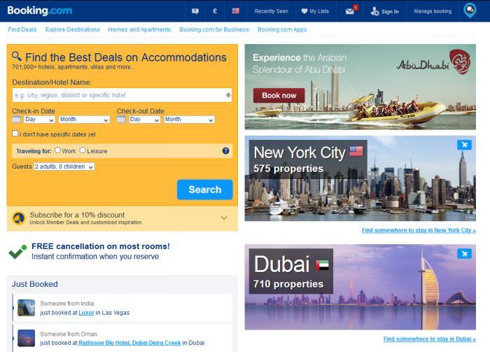 Bài học (case study) về thiết kế Kỹ thuật thiết kế  UX Design: 10 thứ về thiết kế UX mà các website về du lịch có thể gợi ý cho bạn