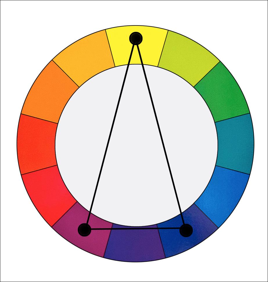 Kỹ thuật thiết kế Thiết kế đồ họa (Visual design)  Bài 4: Kiểu phối màu tam giác cân (Split-Complementary hoặc Compound Harmony)