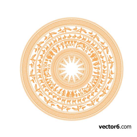 Tài nguyên UX  Tải bộ ảnh vector trống đồng phù hợp với các thiết kế thuần Việt