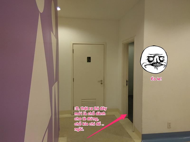 Góc chuyên gia  UX Review - Trải nghiệm người dùng khi đi toilet tại CGV, tòa nhà IPH